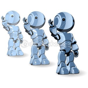 dep_7539460-Glossy-Blue-Robots-Ready-to-Work